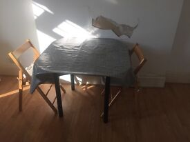 3 DINING TABLES WITH CHAIRS