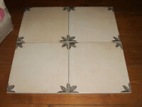 FREE TO COLLECT box of B & Q ceramic floor and wall tiles approx 1sq metre