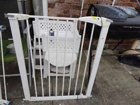 lindam stair gate clean and tidy with fittings