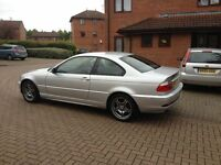 WELL CARED FOR BMW 2.0 SILVER COUPE PETROL ALWAYS SERVICED WHEN DUE. GREAT CAR AND VERY PRETTY,