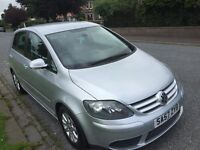 Volkswagen GOLF Plus 1.9 TDI Luna, 12 MONTHS MOT **Timing Belt and water pump changed**