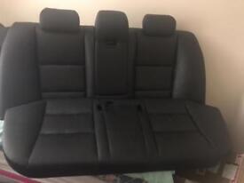 Bmw e60 5 series full black leather interior