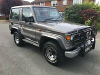 Toyota Landcruiser 2.5 TD 1990/G 5/Speed...LADY OWNER FOR THE PAST 23 YEARS