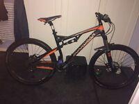 "Boardman Mountain Bike Team MTB Alloy Frame Full Suspension 27.5"" Inch Wheels"