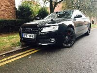 AUDI A5 2.7 TDI SEMI AUTO 8 SPEED SPORT BLACK EDITION
