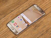 Samsung Galaxy S7 Edge - Gold - Network Free