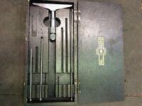 Moore and wright micrometer depth gauge