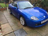 2003 MGTF ,TROPHY BLUE