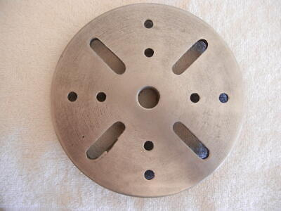 6-14 Atlascraftsman Lathe Face Plate 34 X 16 Tpi Pn Mtl15