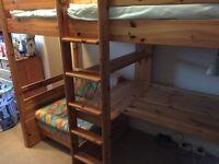 Stompa high sleeper bed