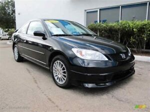 Want to buy 2004-2005 honda civic coupe