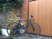 Special Offer GOKU cycles ALLOY / STEEL Frame Single speed road bike TRACK fixed gear bike WW2