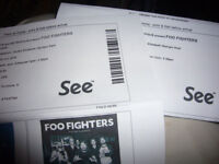 2 x FOO FIGHTERS LONDON STADIUM CONCERT TICKETS FOR 23/06/18