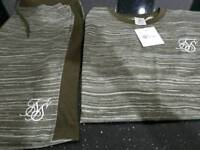 Sik silk 2pc summer TRACKSUITS last on in size medium