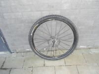 Mavic Crossride Disc 26 inch front wheel(disc brakes)