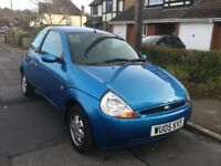 FORD KA, NEW 12 MONTHS MOT, LOW MILEAGE.