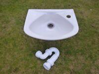 Small White Ceramic basin