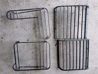 Land rover light guards