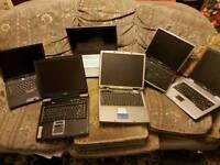 Laptops mixture spares or repairs