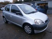 ** NEWTON CARS ** 02 52 TOYOTA YARIS 1.4 GS D4D, 5 DR, 144,000 MLS, £30 TAX, FULL MOT SUPPLIED, CALL