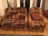 Superb Cane Furniture for conservatory from non smoking home