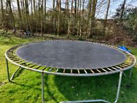 Trampoline 14ft - good condition