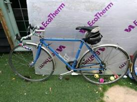 """Retro racer road bike 20"""" frame"""