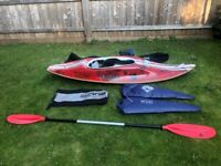 Mega Revenge Carbon Fibre Surf Kayak