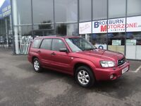 2006 06 SUBARU FORESTER 2.0 S 5d 125 BHP MOT APRIL 2017 **** GUARANTEED FINANCE ****
