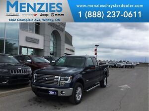 2013 Ford F-150 Lariat, 4x4, Navi, Backup Cam, Clean Carproof