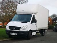 MAN AND A LUTON VAN FOR HIRE. HOUSE REMOVALS AND DELIVERIES.