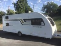 2016 Swift Sprite Major 6 TD 6 berth, panoramic roof, awning STUNNING CARAVAN,