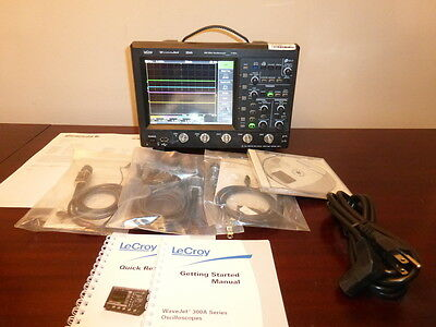 Lecroy Teledyne Wavejet 354a 500mhz 2gss 4ch. Oscilloscope With Std Accys