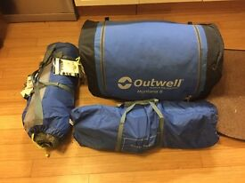 Outwell Montana 6 Person Tent + Extension - Excellent Condition