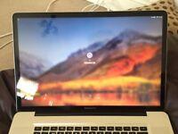 "Macbook Pro 17"" 500GB HDD Used/V.G"