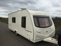 Avondale argente 550/4berth 2007 side dinette full awning L shape sitting lounge with drop style