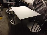 Shabby Chic Table & 3 Chairs - £50