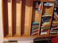 Sold****Bookcase custom