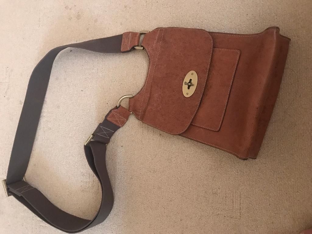 Mulberry Antony Messenger Bag in oak leather  c5253fe83a540