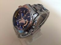 New Swiss Tag Heuer Grand Carrera Calibre 36 Stainless Steel Automatic Watch