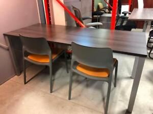 Table Desk with Square Post Legs - $384.50 - Brand New