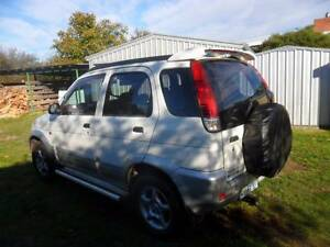 2005 Daihatsu Terios Wagon Ross Northern Midlands Preview