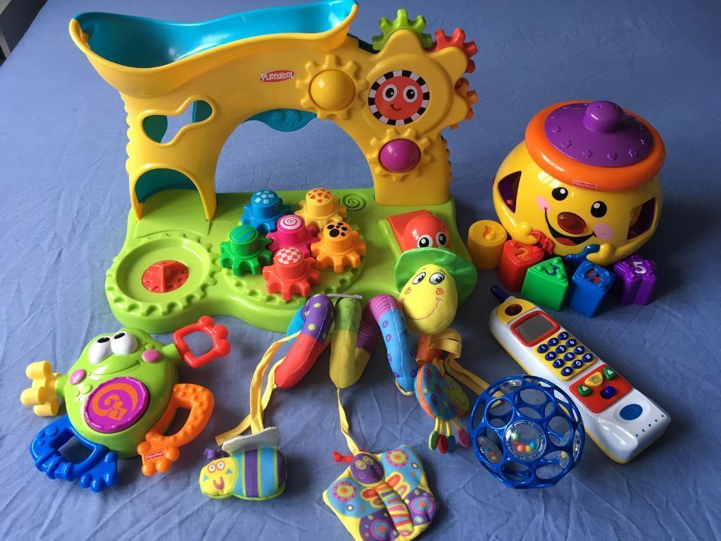Baby toy bundlein Colinton, EdinburghGumtree - Baby toy bundle all working just need new batteries from smoke &pet free home