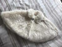 Monsoon Fur Shrug 0-12m