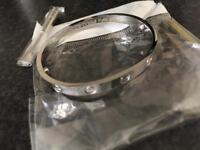 Silver Cartier Bangle For Sale Brand New w/ Screwdriver