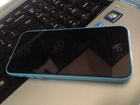 apple iphone 5c blue fault faulty