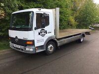 Mercedes flat bed truck 7.5 ton