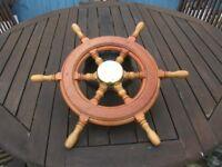 Classic Boat Wheel