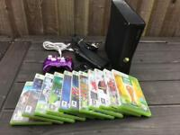 Xbox 360 console and loads of games