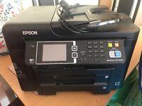 Epson WF-3640 workforce printer, excellent condition.